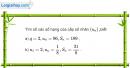 Bài 3.29 trang 131 SBT đại số và giải tích 11