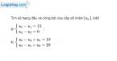 Bài 3.30 trang 131 SBT đại số và giải tích 11