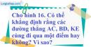 Bài 75 trang 51 SBT toán 7 tập 2