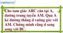 Bài 76 trang 51 SBT toán 7 tập 2