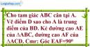 Bài 77 trang 51 SBT toán 7 tập 2