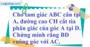 Bài 78 trang 51 SBT toán 7 tập 2