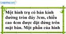 Bài 12 trang 165 SBT toán 9 tập 2