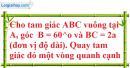 Bài 14 trang 166 SBT toán 9 tập 2