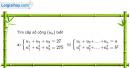 Bài 3.22 trang 124 SBT đại số và giải tích 11
