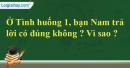 II. Em suy nghĩ - Bài 13: Công dân nước Cộng hòa xã hội chủ nghĩa Việt Nam