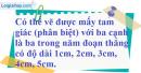 Bài 84 trang 52 SBT toán 7 tập 2