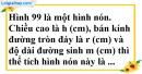 Bài 23 trang 168 SBT toán 9 tập 2