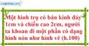 Bài 24 trang 169 SBT toán 9 tập 2