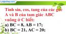 Bài 4 trang 196 SBT toán 9 tập 2