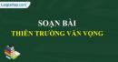 Soạn bài: Thiên Trường vãn vọng trang 75 SGK Ngữ Văn 7