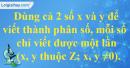 Bài 5 trang 6 SBT toán 6 tập 2