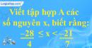 Bài 7 trang 6 SBT toán 6 tập 2