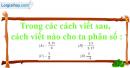 Bài 1.1, 1.2, 1.3 phần bài tập bổ sung trang 6 SBT toán 6 tập 2