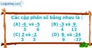Phần câu hỏi bài 2 trang 7 Vở bài tập toán 6 tập 2