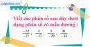 Bài 11 trang 7 SBT toán 6 tập 2