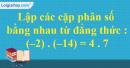 Bài 13 trang 7 SBT toán 6 tập 2