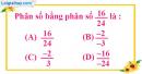 Bài 2.1, 2.2, 2.3, 2.4 phần bài tập bổ sung trang 7 SBT toán 6 tập 2