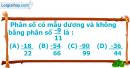 Phần câu hỏi bài 3 trang 10 Vở bài tập toán 6 tập 2
