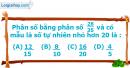 Phần câu hỏi bài 4 trang 13 Vở bài tập toán 6 tập 2