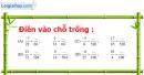 Phần câu hỏi bài 5 trang 19 Vở bài tập toán 6 tập 2