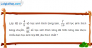 Bài 25 trang 28 Vở bài tập toán 6 tập 2