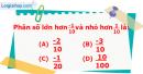 Phần câu hỏi bài 6 trang 25, 26 Vở bài tập toán 6 tập 2