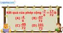 Phần câu hỏi bài 7 trang 30 Vở bài tập toán 6 tập 2