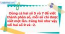 Bài 3 trang 6 Vở bài tập toán 6 tập 2