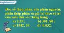 Bài 1 trang 38 sgk Toán 5