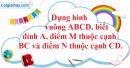 Bài 38 trang 106 SBT toán 9 tập 2