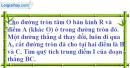 Bài 6.2 phần bài tập bổ sung trang 106 SBT toán 9 tập 2