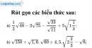 Bài 62 trang 33 SGK Toán 9 tập 1