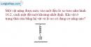 Bài 16.9 trang 46 SBT Vật lí 8