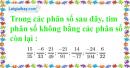 Bài 33 trang 11 SBT toán 6 tập 2