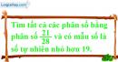 Bài 34 trang 11 SBT toán 6 tập 2