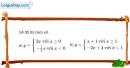 Bài 4 trang 42 sgk đại số 10