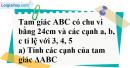 Bài 5 trang 100 SBT toán 7 tập 2