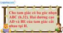 Phần câu hỏi bài 7 trang 89 Vở bài tập toán 8 tập 2
