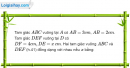 Phần câu hỏi bài 8 trang 96 Vở bài tập toán 8 tập 2