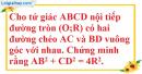 Bài 11 trang 197 SBT toán 9 tập 2