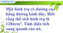 Bài 16 trang 197 SBT toán 9 tập 2