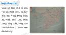 Bài 1 trang 48 Tập bản đồ Địa lí 9