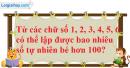 Bài 2 trang 46 SGK Đại số và Giải tích 11
