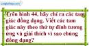 Bài 37 trang 98 Vở bài tập toán 8 tập 2