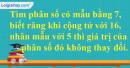 Bài 48* trang 13 SBT toán 6 tập 2