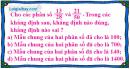 Bài 5.1, 5.2, 5.3, 5.4, 5.5 phần bài tập bổ sung trang 13 SBT toán 6 tập 2