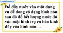 Bài 37 trang 173 SBT toán 9 tập 2