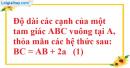 Bài 42 trang 174 SBT toán 9 tập 2