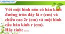 Bài 43 trang 174 SBT toán 9 tập 2